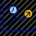 analytics, dashboard, graph, history, performance history icon