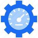 performance, productivity, real time, server, speed icon