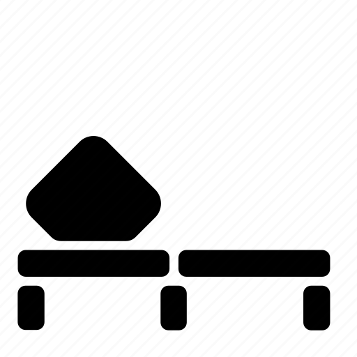 cot, furniture icon