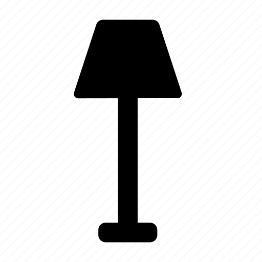 floor, lamp icon