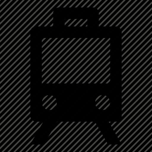 Sign, tram icon - Download on Iconfinder on Iconfinder
