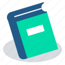 books, course, ebooks, education, elearning, library, online education icon