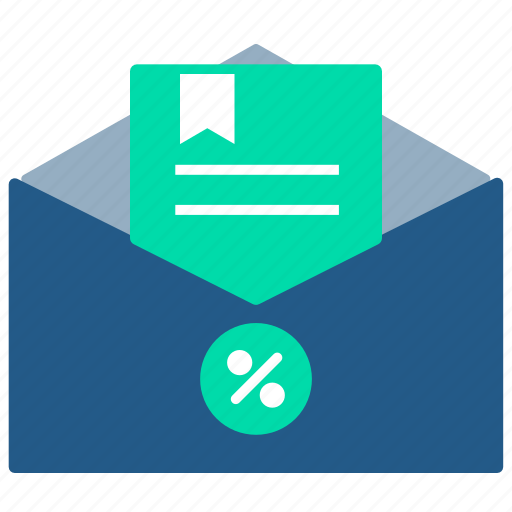 education, elearning, email, notification, publish, subscription icon