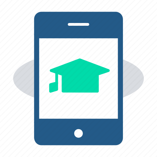 Elearning, mobile application, mobile learning, online certification, online courses, scholar icon - Download on Iconfinder