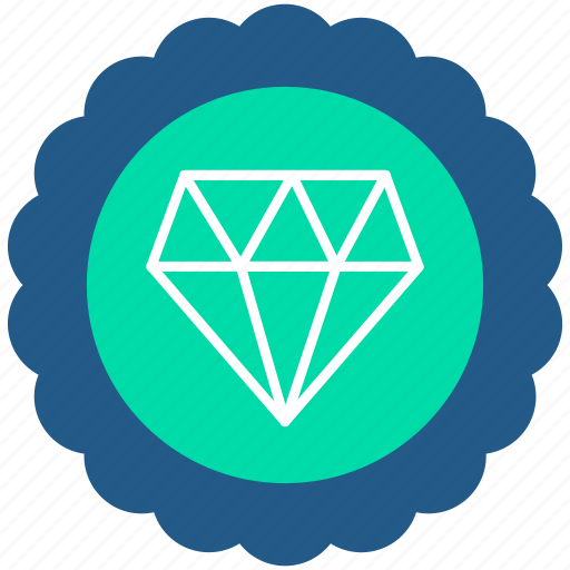 Badge, diamond, lable, premium, quality, rank icon - Download on Iconfinder