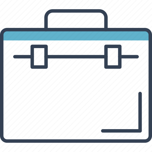 elections, office, political, suitcase icon