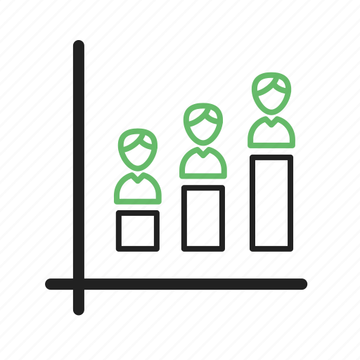 demographic, opinion, percent, poll, population, portion icon