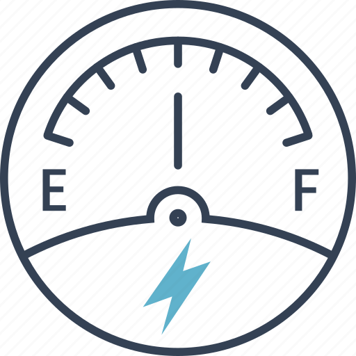 car, electric, speed icon
