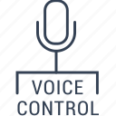 car, control, electric, microphone, voice icon