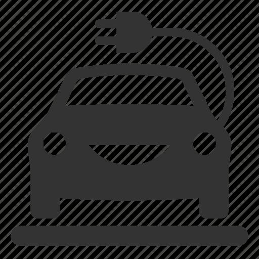 Car Electric Ev Vehicle Icon