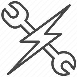 automobile, electric car, garage, maintenance, mechanic, technician, vehicle icon