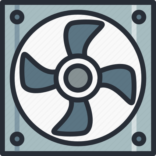blower, cooler, electric, exhaust, fan, hardware, ventilator icon