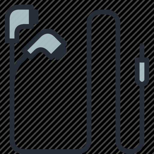 earphones, earpiece, handsfree, headphones, headsets, music, sound icon