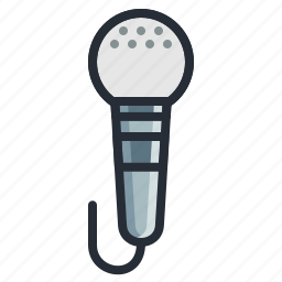 announcement, audio, mic, microphone, podcast, studio icon