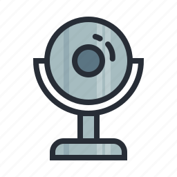 cam, camera, communication, hardware, skype, video, webcam icon
