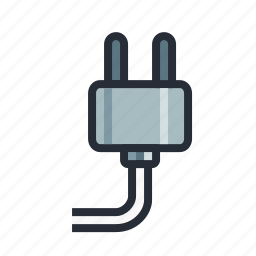 electric, electricity, plug, power, source, wire, wiring icon