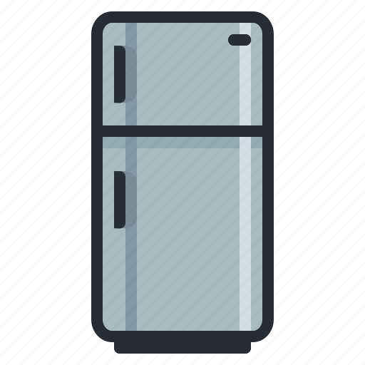 appliance, appliances, electrical, freezer, fridge, kitchen, refrigerator icon