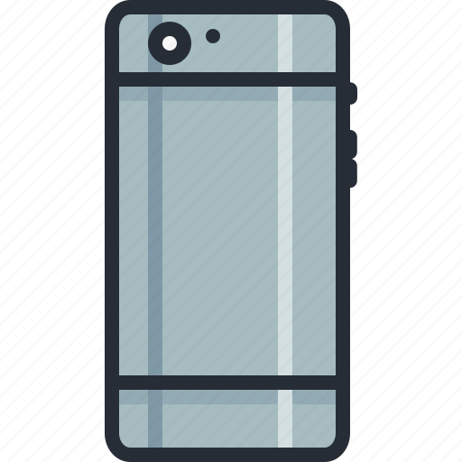 back, cell, handheld, iphone, mobile, phone, smart icon