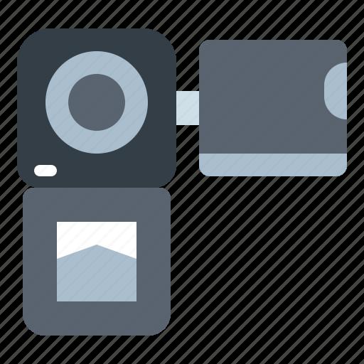 camcorder, camera, digital, electronics, video icon