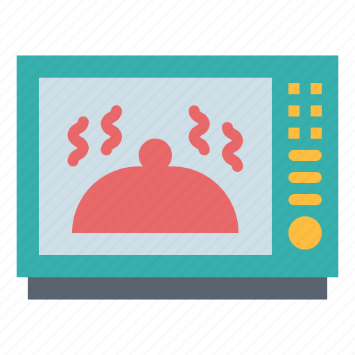 cooking, heating, kitchenware, microwave, oven icon
