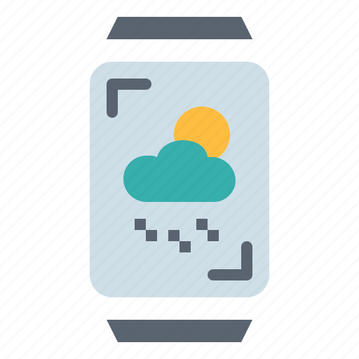 device, electronics, multimedia, smartwatch icon