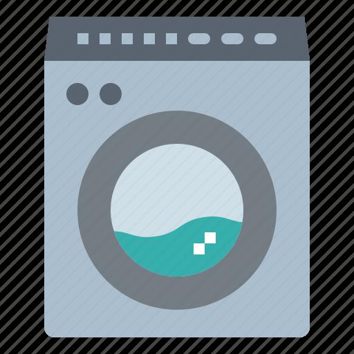 electronics, household, laundry, machine, washing icon