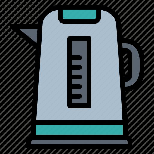 drink, electronics, hot, kettle, kitchenware icon