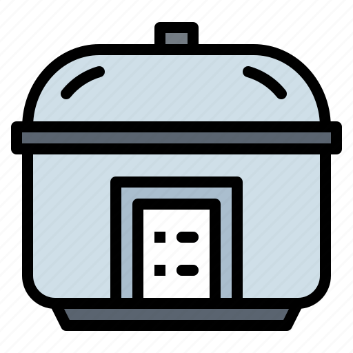 cooker, cooking, kitchenware, restaurant, rice icon