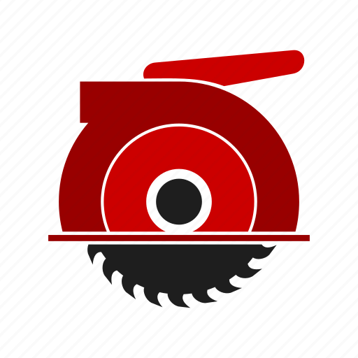 circular saw, electric, equipment, saw, tool, work, worker icon