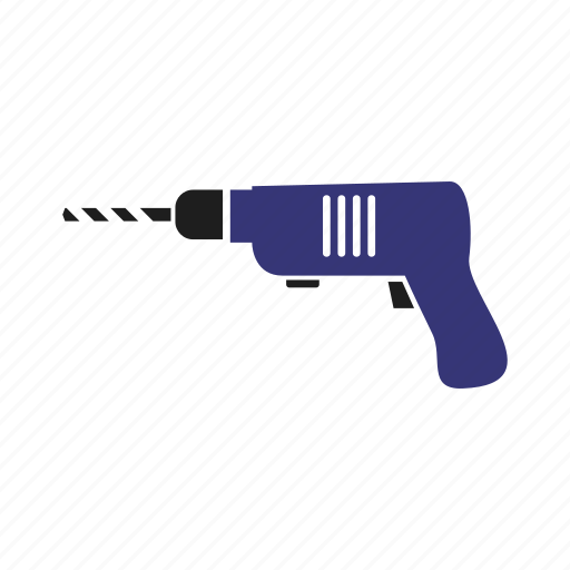 drill, electric, equipment, instrument, tool, work, worker icon