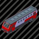 business, car, cartoon, electric, isometric, modern, train