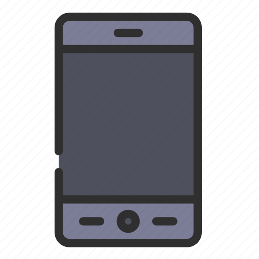 Mobile, smartphone, phone, screen, device, display, telephone icon - Download on Iconfinder