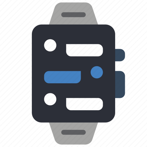devices, messages, smart, watch icon