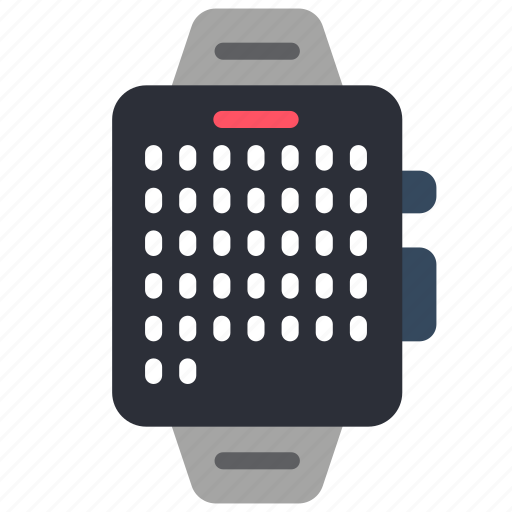calendar, devices, smart, watch icon