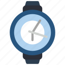 devices, smart, time, watch icon