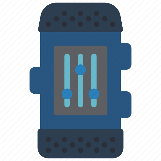 devices, fitness, settings, tracker, watch icon