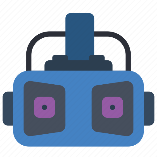 devices, headset, reality, virtual, vr icon