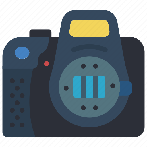 camera, devices, dslr, open, photography icon