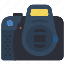 camera, cap, devices, dslr, lens, photography icon