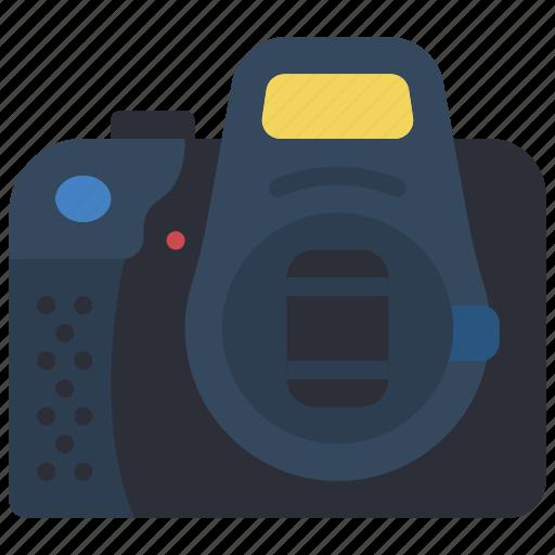 camera, cap, devices, dslr, lens, photography icon