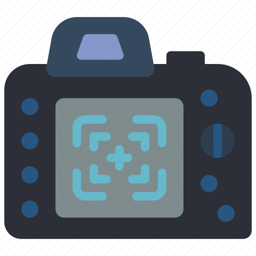 camera, devices, dslr, finder, photography, view icon