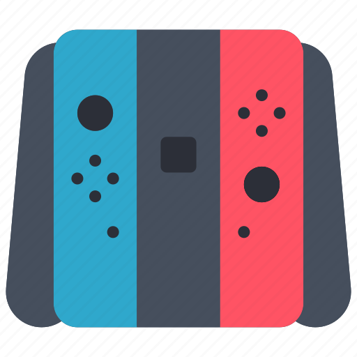 controller, devices, game, nintendo, switch icon