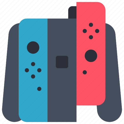 controller, devices, game, nintendo, right, switch icon
