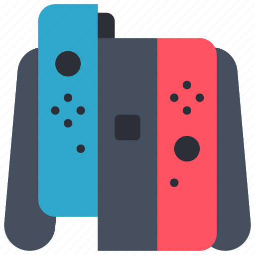 controller, devices, nintendo, right, switch icon