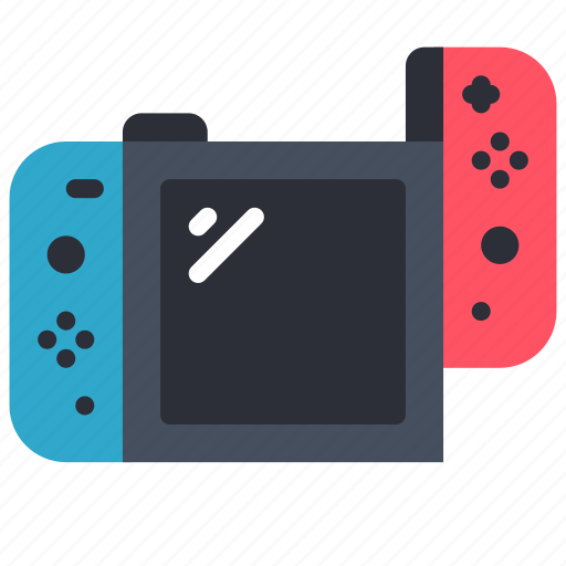 complete, devices, game, left, nintendo, switch icon