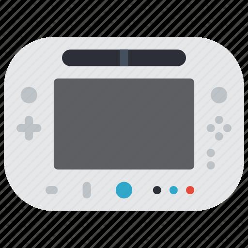 devices, game, nintendo, u, wii icon