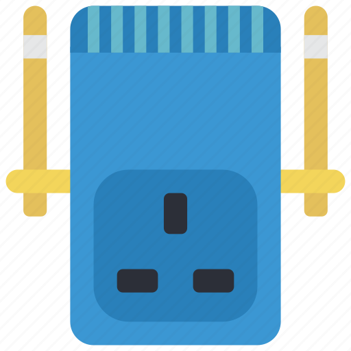 devices, plug, uk, wifi icon