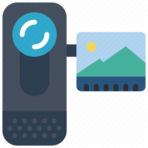 cam, camera, devices, handy, video icon