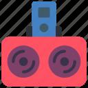 devices, dock, ipod, speakers icon