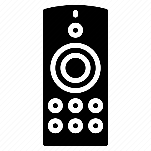 control, devices, remote, solid icon